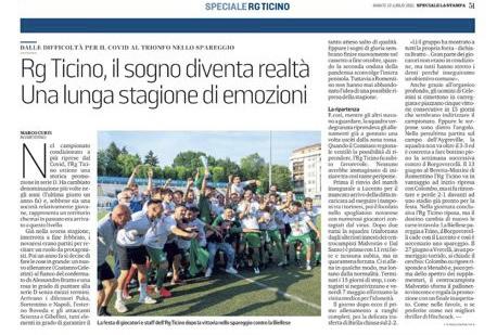 """Speciale """"La Stampa"""" 10/07/21"""