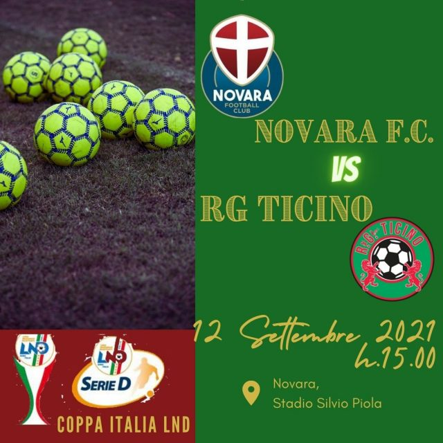 Coppa Italia: una sfida tutta novarese